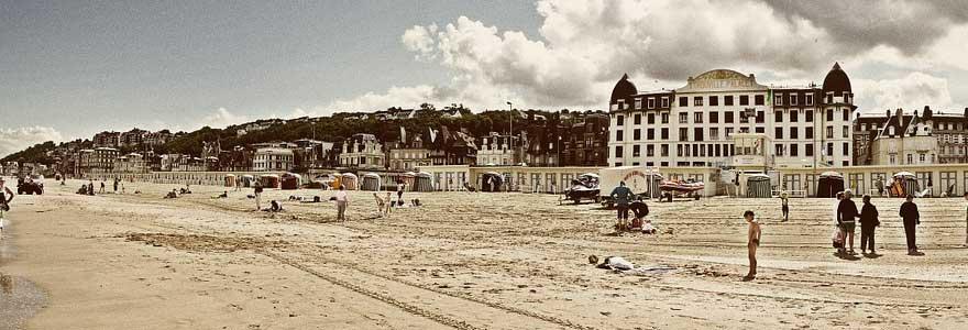 a la découverte de Deauville